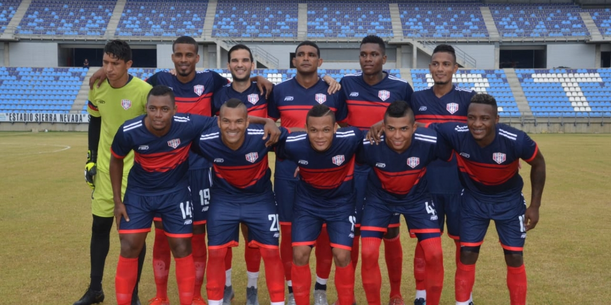 Así formó el Unión ante el Valledupar FC.