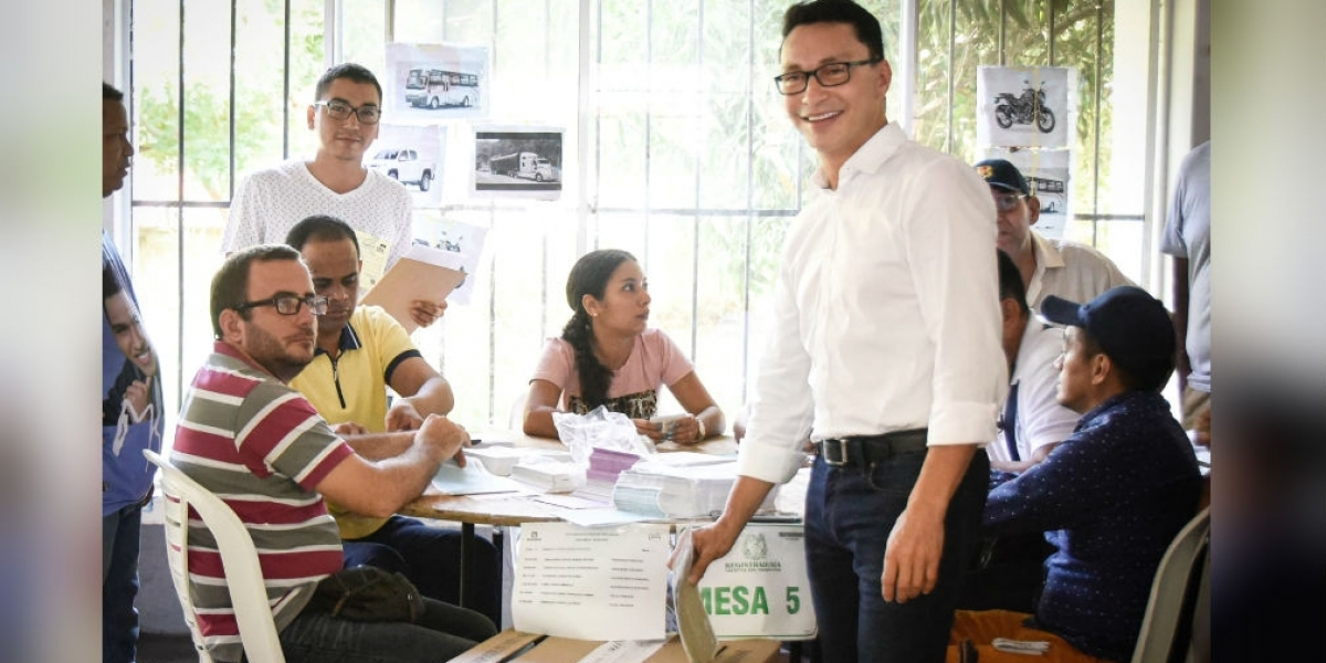 Nuevamente declaran improcedente tutela que pretendía impedir elección del gobernador Caicedo.
