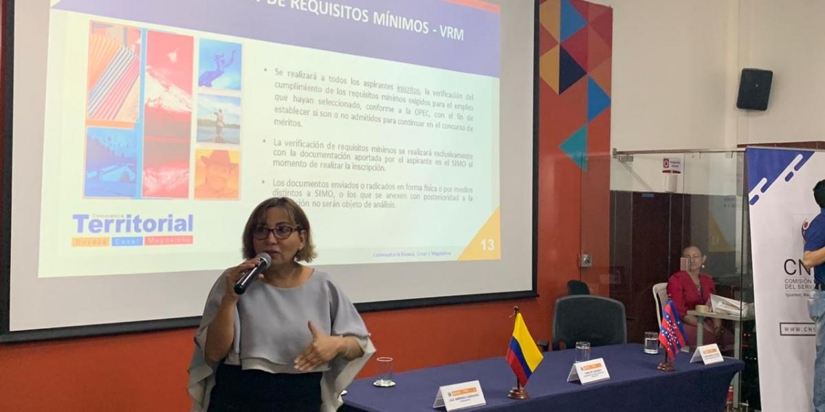 La convocatoria Territorial Boyacá, Cesar y Magdalena oferta más de 2.500 empleos vacantes, pertenecientes a 167 entidades públicas.