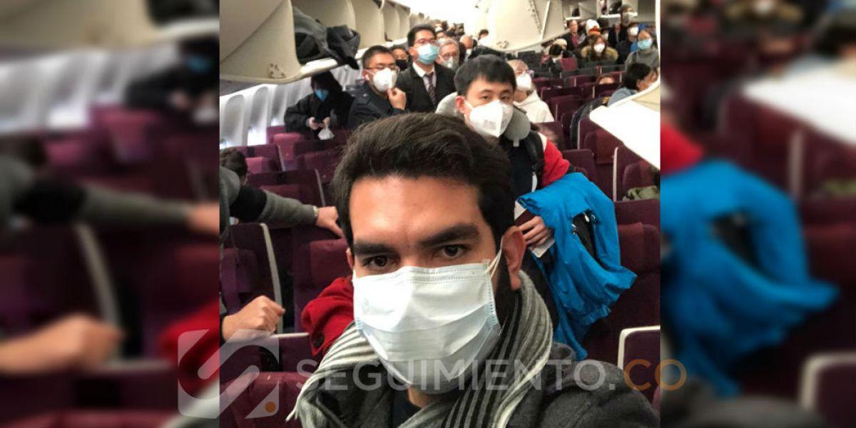 Frank Cuao, el día que partió de Cantón.