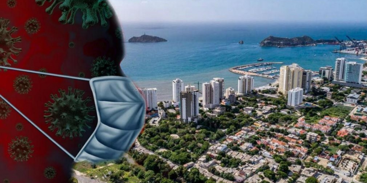 37 nuevos casos de coronavirus se registraron en Santa Marta.
