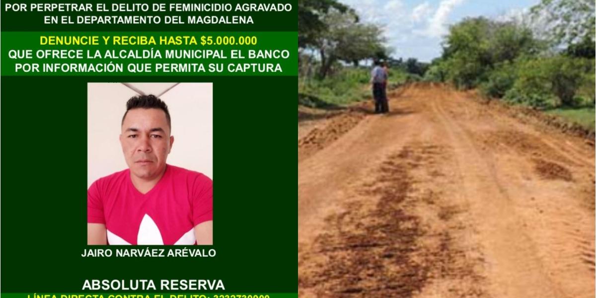 Jairo Narváez Arévalo sería el presunto asesino de su pareja sentimental.