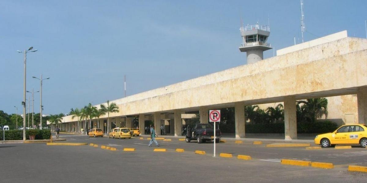 Aeropuerto de Cartagena.