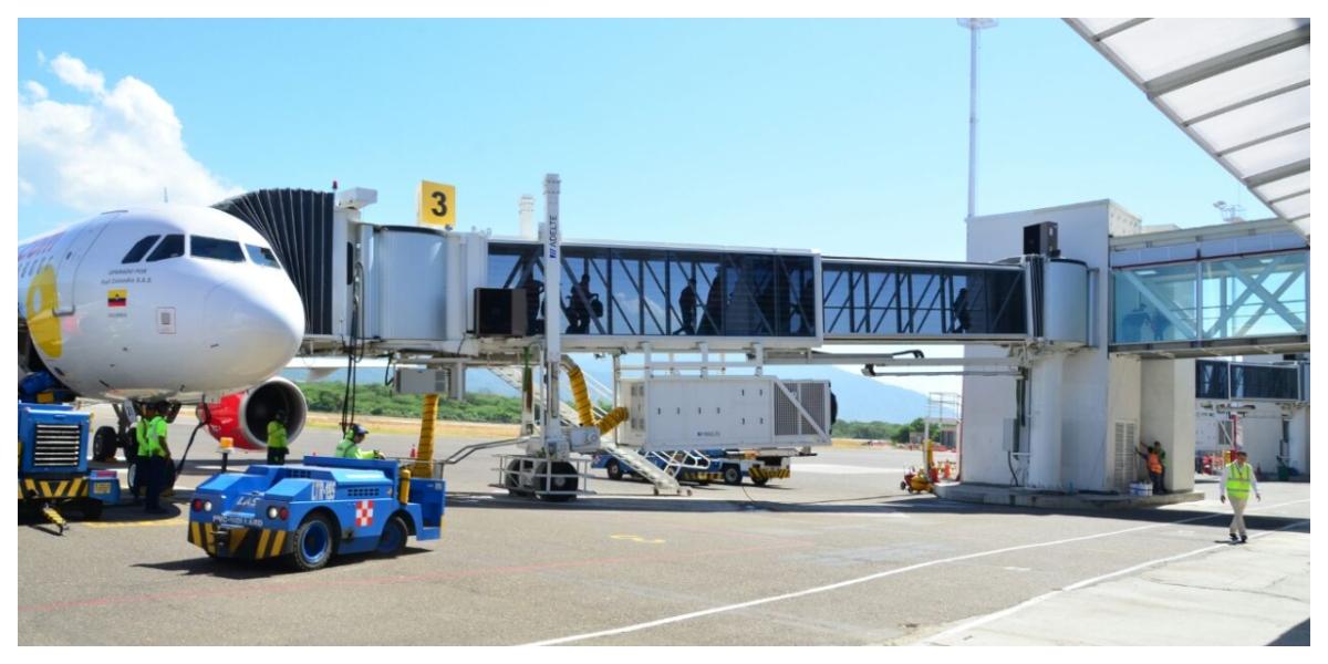 El itinerario de la aerolínea será una frecuencia ida y vuelta los días lunes, jueves, viernes y domingo.