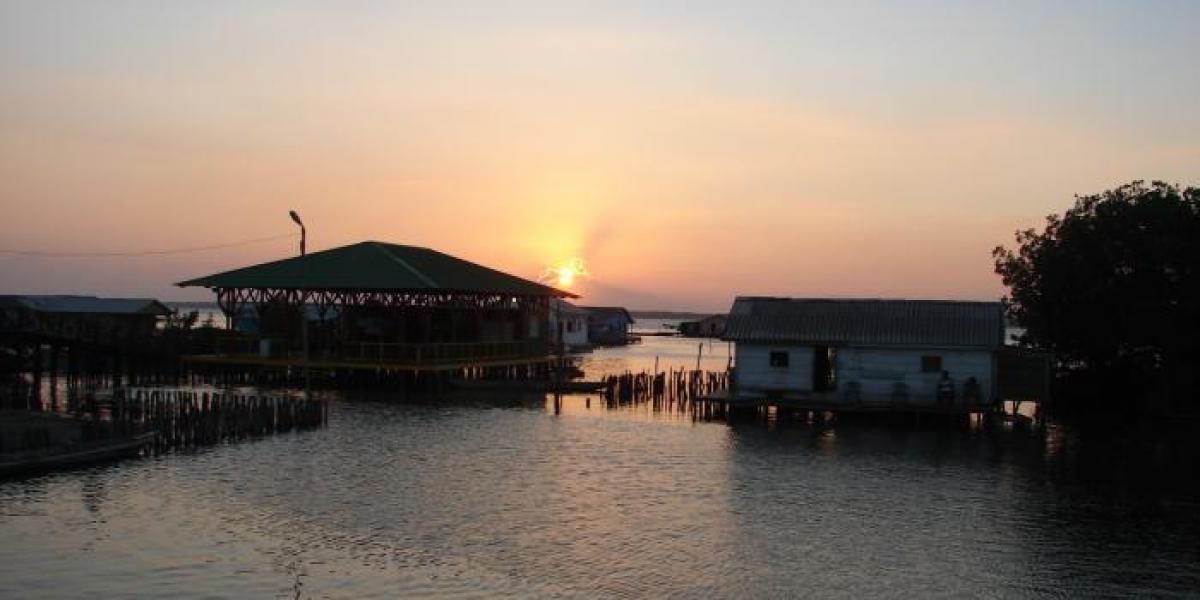 Nueva Venecia es uno de los tres pueblos palafitos de Colombia.