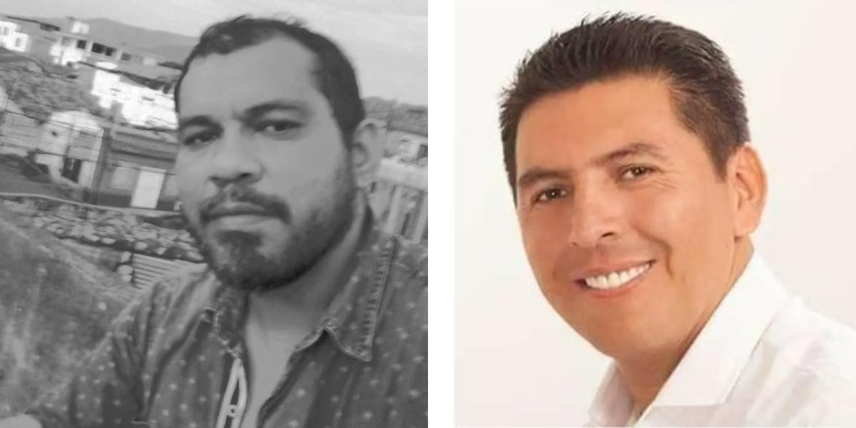 Douglas Cortés Mosquera y Bayron Revelo Insuasty.