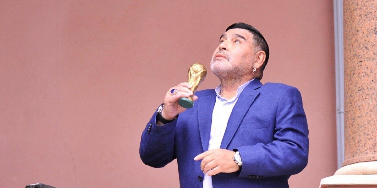El astro argentino falleció este miércoles.