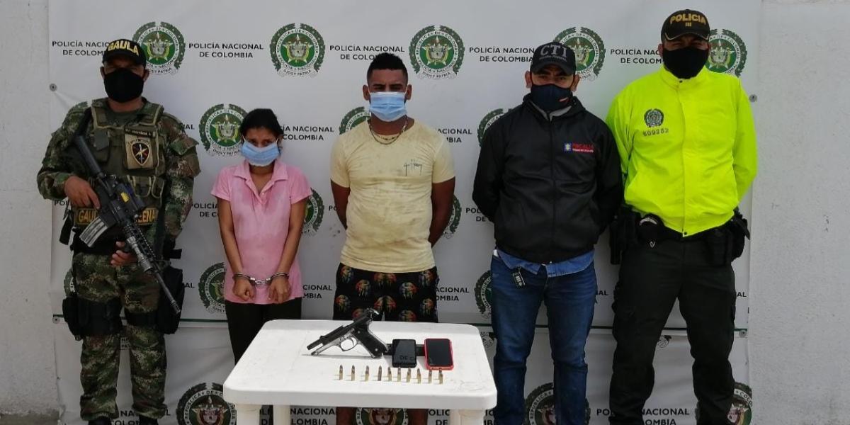 Los capturados estaban siendo requeridos por parte de las autoridades por presuntamente participar en múltiples asesinatos.