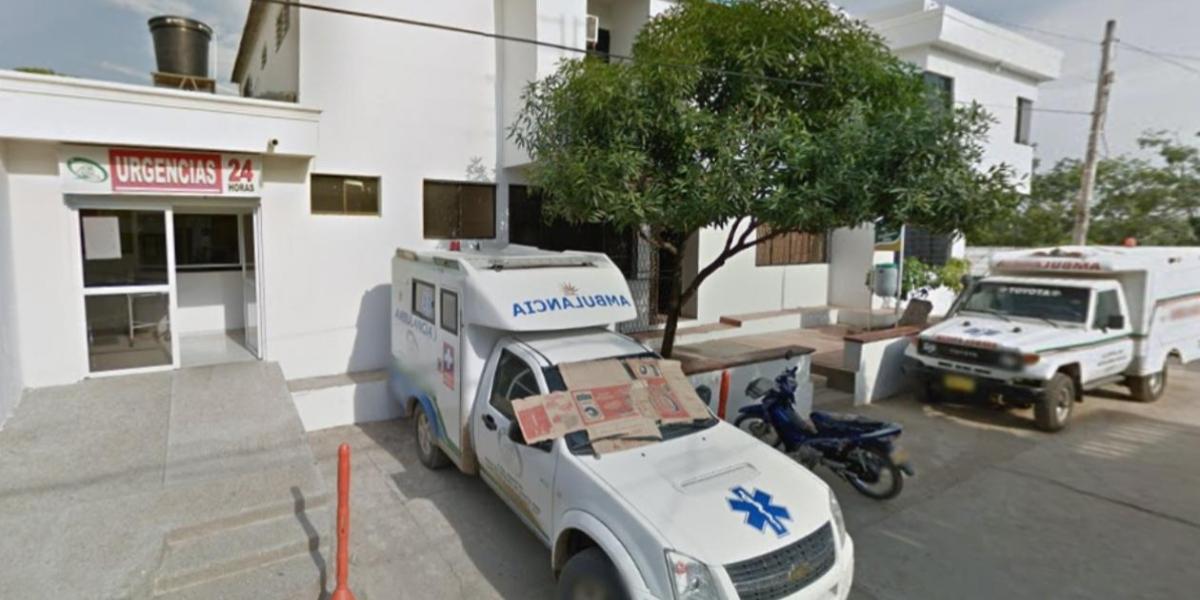 La niña fue ingresada sin signos vitales al hospital.