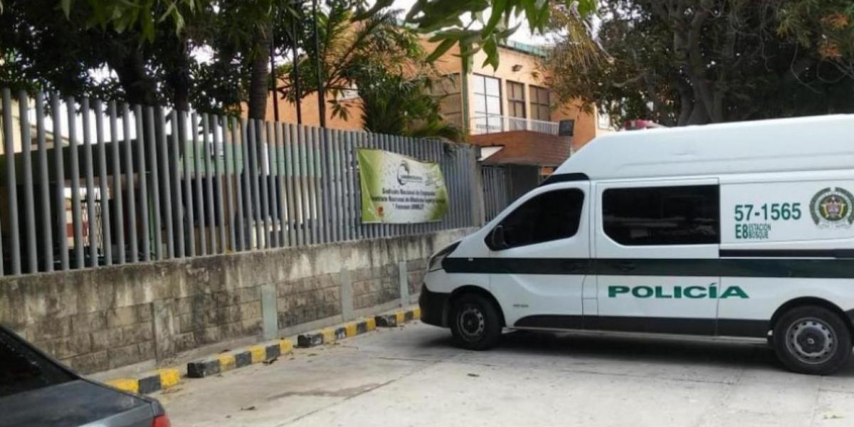 El cadáver del venezolano fue llevado a Medicina Legal.