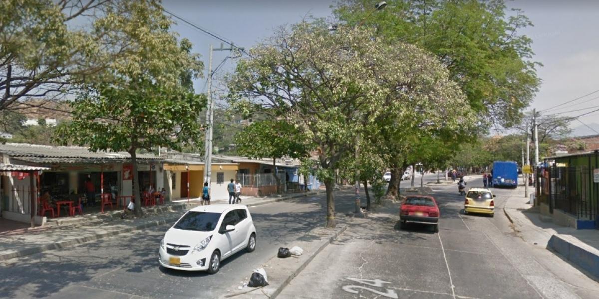 En este sector de la Avenida del Río se dio la masacre.