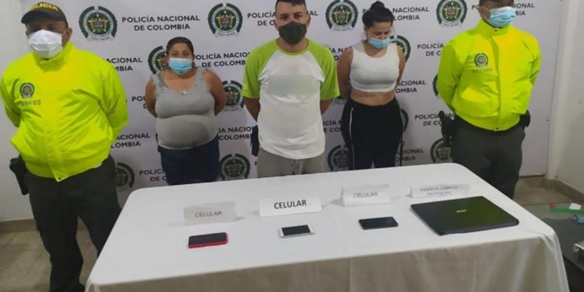 A los tres imputados los cobijaron con casa por cárcel.