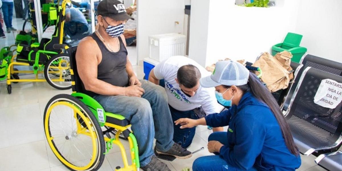 Ciénaga está categorizado como un municipio que le apuesta a la inclusión social y a la rehabilitación de las personas con algún tipo de discapacidad.