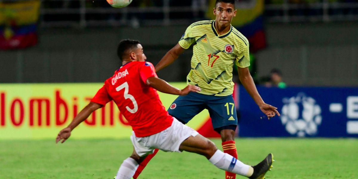 El lateral samario hasta ahora ha disputado todos los partidos de la 'Tricolor'.