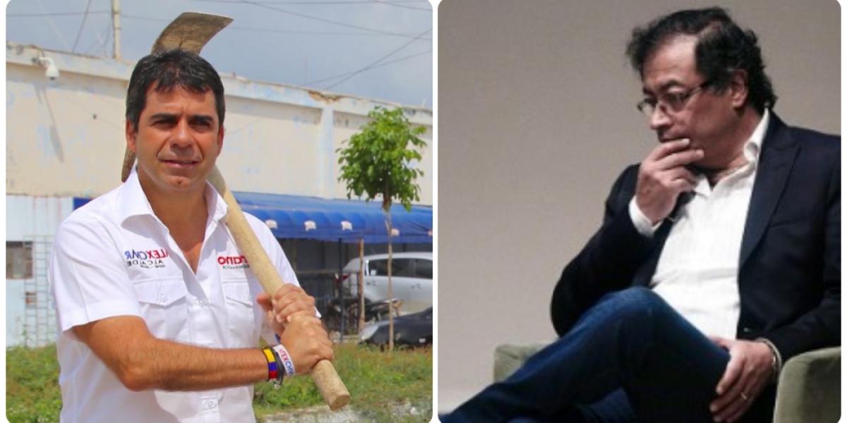 Alejandro Char tiene mucha más favorabilidad que Gustavo Petro.