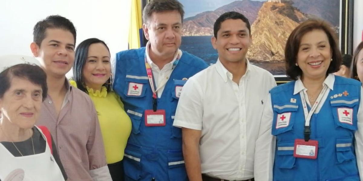 En la mañana de este jueves la Asamblea reconoció la labor de la Cruz Roja seccional Magdalena.