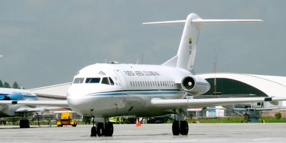 El avión presidencial FAC 002 normalmente es usado por el alto gobierno: vicepresidente y ministros.