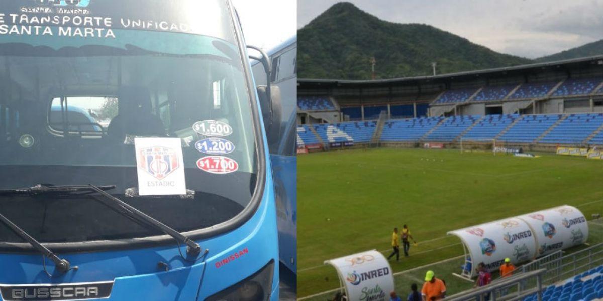 Los buses transportarán aficionados para el partido Unión - Quindío.