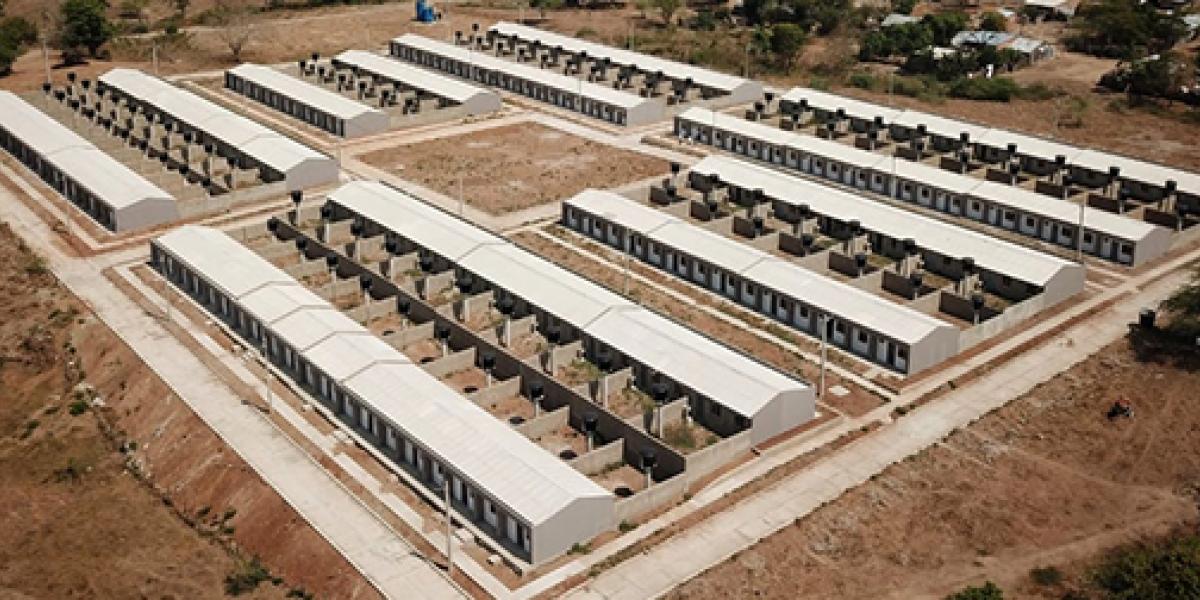 Las viviendas están ubicadas en la Urbanización Altos de Aratat I.