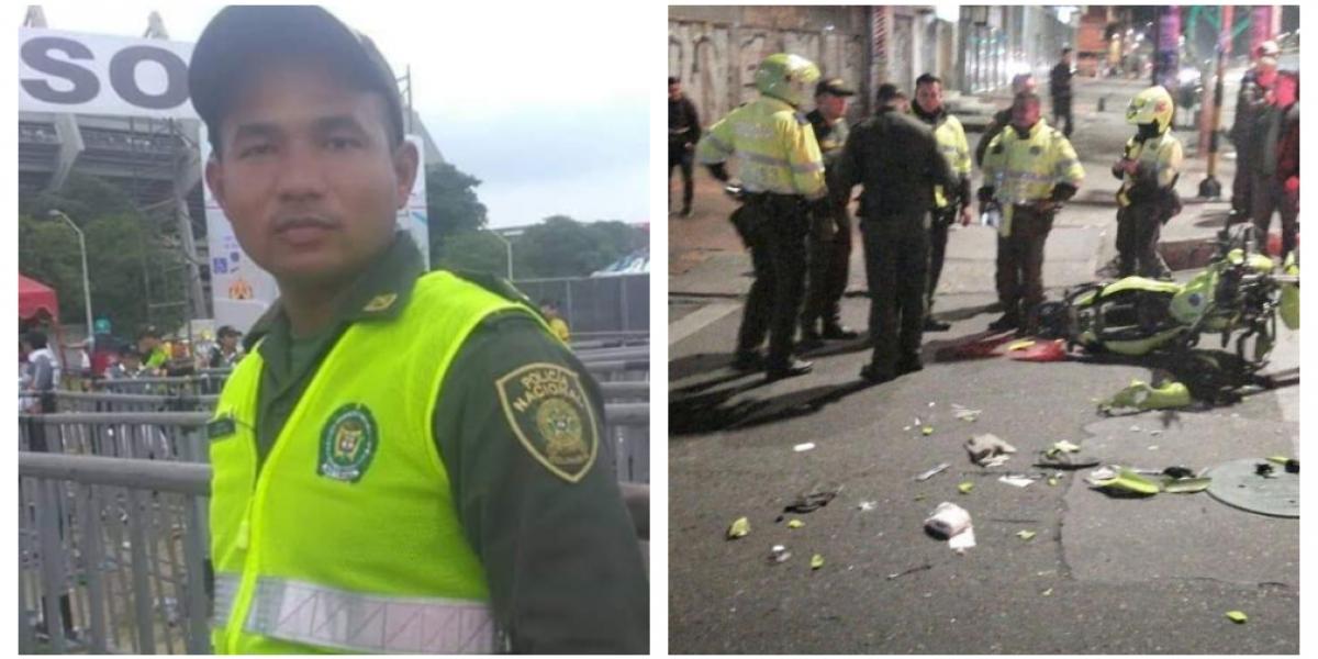 El policía fue identificado como Silfredo Enrique Pérez Manga.