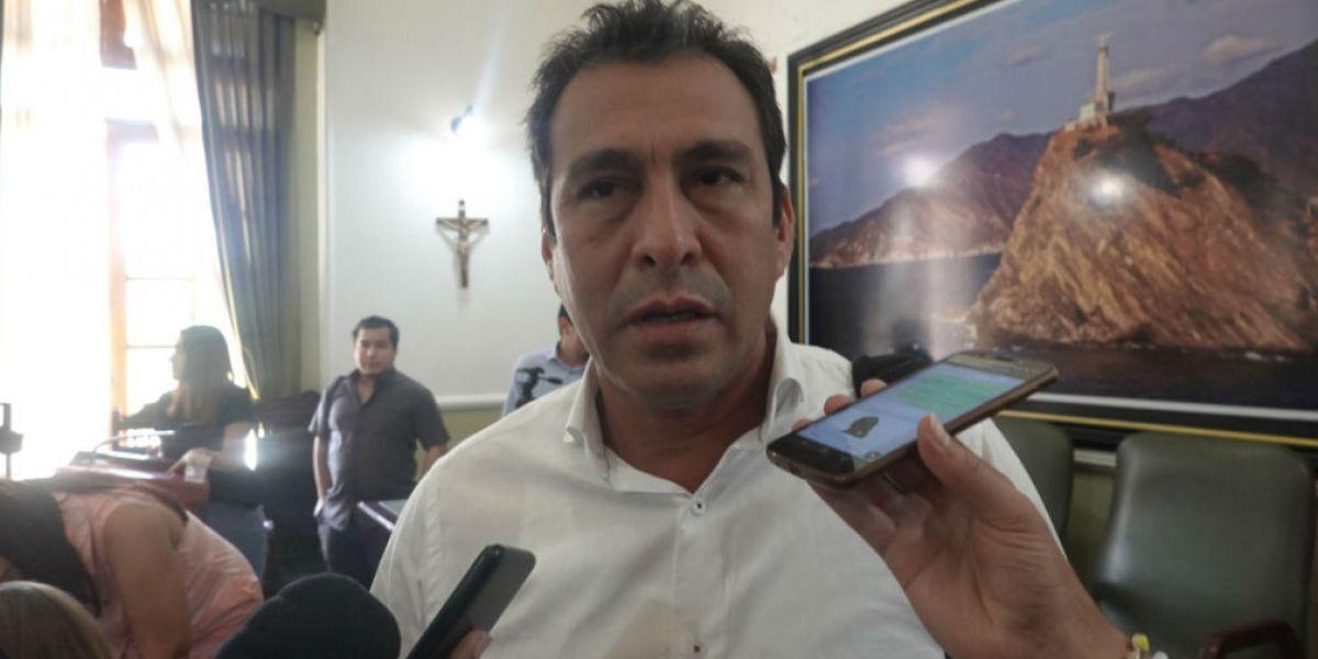 Julio Alzamora, presidente de la Asamblea del Magdalena.