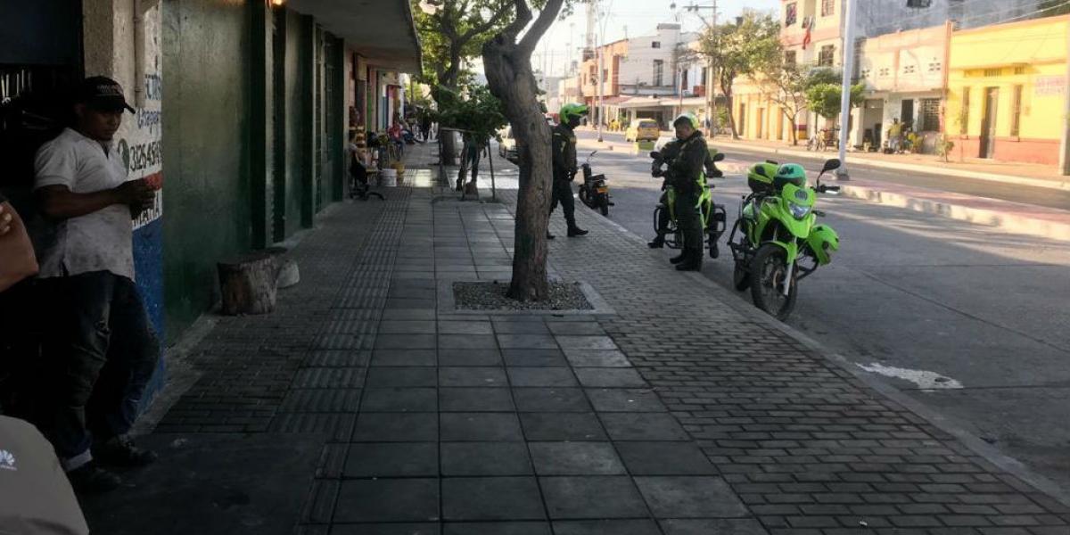Así luce ahora la zona que era invadida por motocicletas.