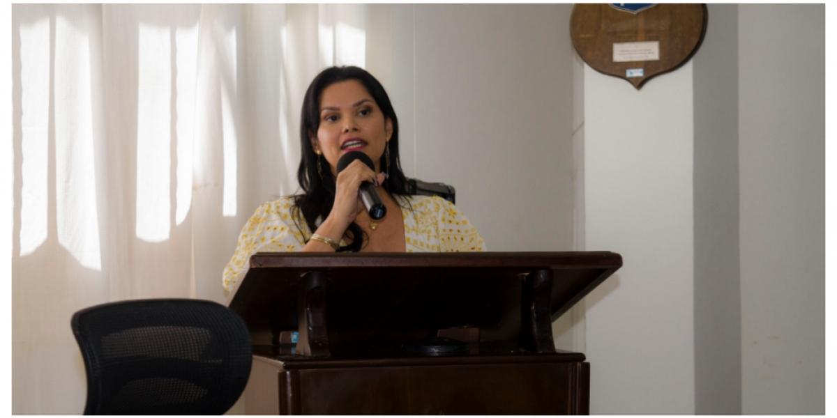 La gerente de Interaseo, Yolanda González.