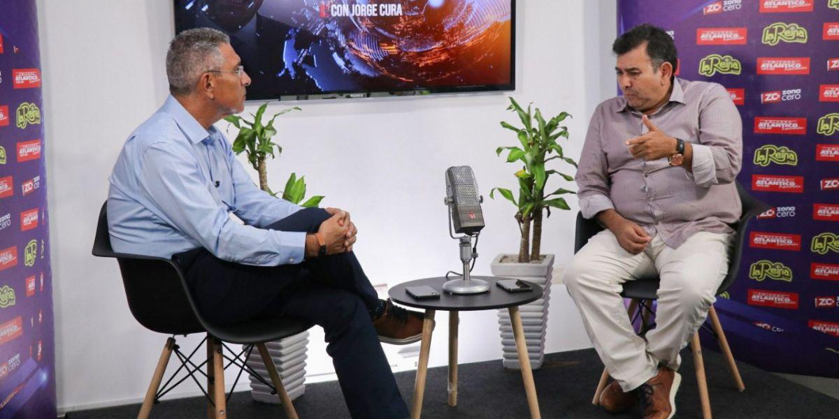 Entrevista de Jorge Cura con el presidente de Undeco.