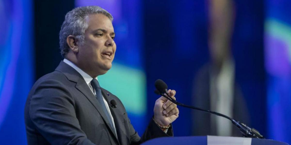 Practican prueba de coronavirus a presidente de Colombia, Iván Duque; dio negativo