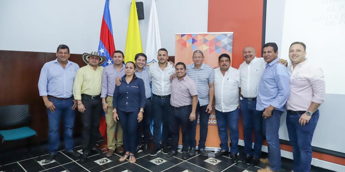 Alcaldes designados como representantes en Ocad