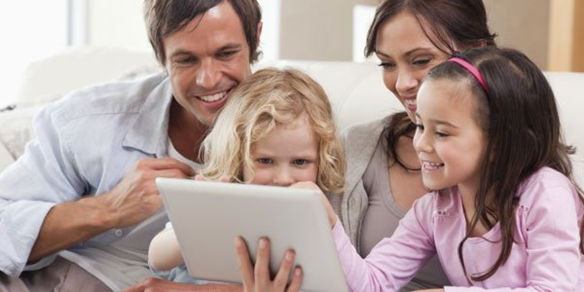 Lectura digital en familia.