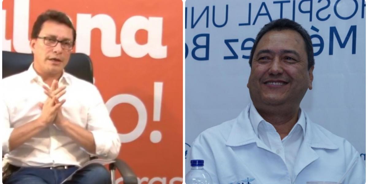 Carlos Caicedo dejó por fuera al gerente Tomás Díazgranados.