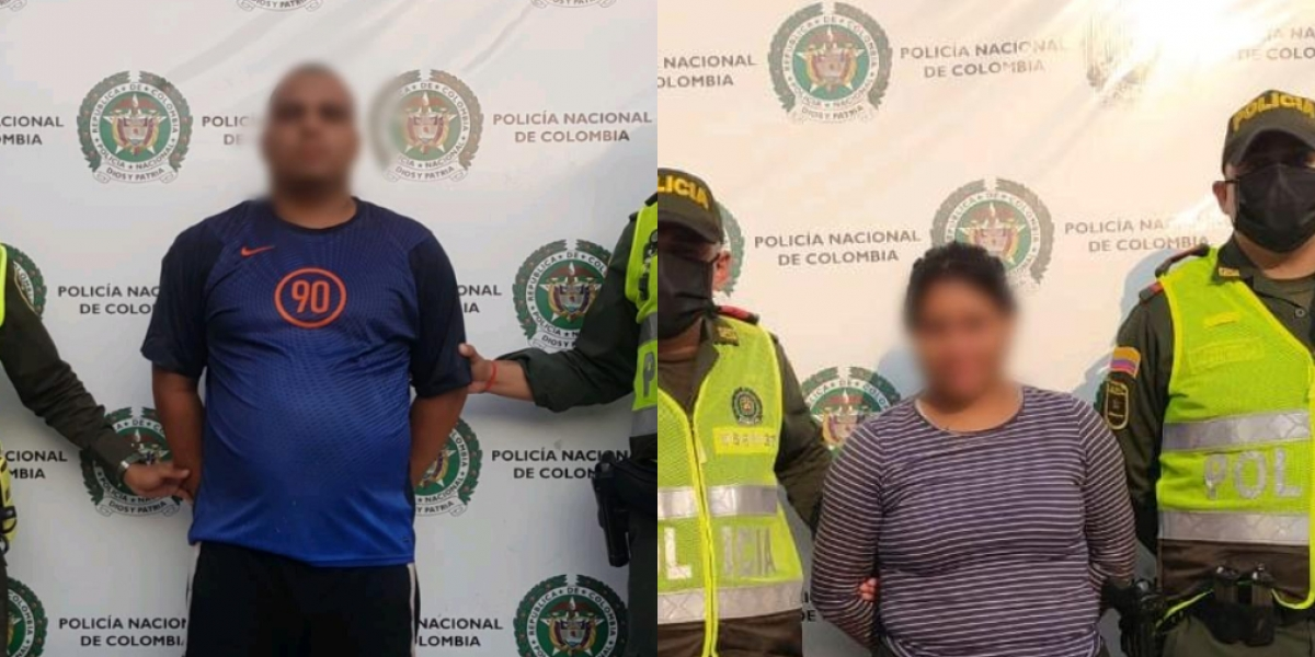 Las personas capturadas fueron dejadas a disposición de la Fiscalía Seccional URI de Santa Marta, por el delito de lesiones personales.