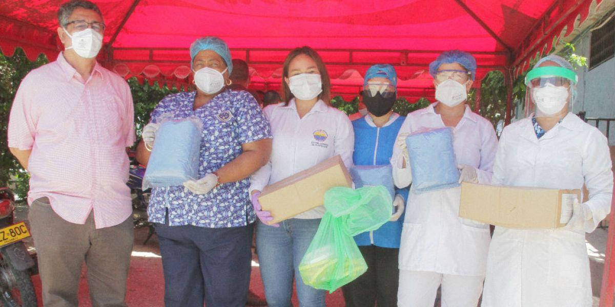 Elementos donados por Unimagdalena a la cárcel de Santa Marta.