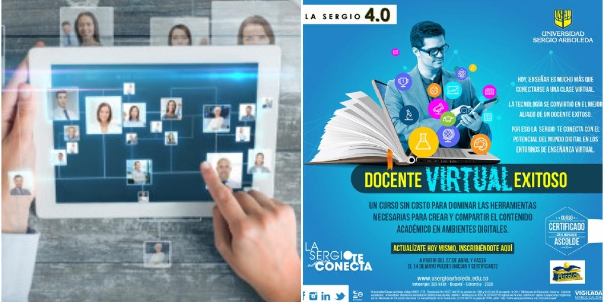 Los participantes que aprueben el 80% de los contenidos serán certificados como Docentes Digitales por la Universidad Sergio Arboleda y por la Asociación Colombiana de Educadores.