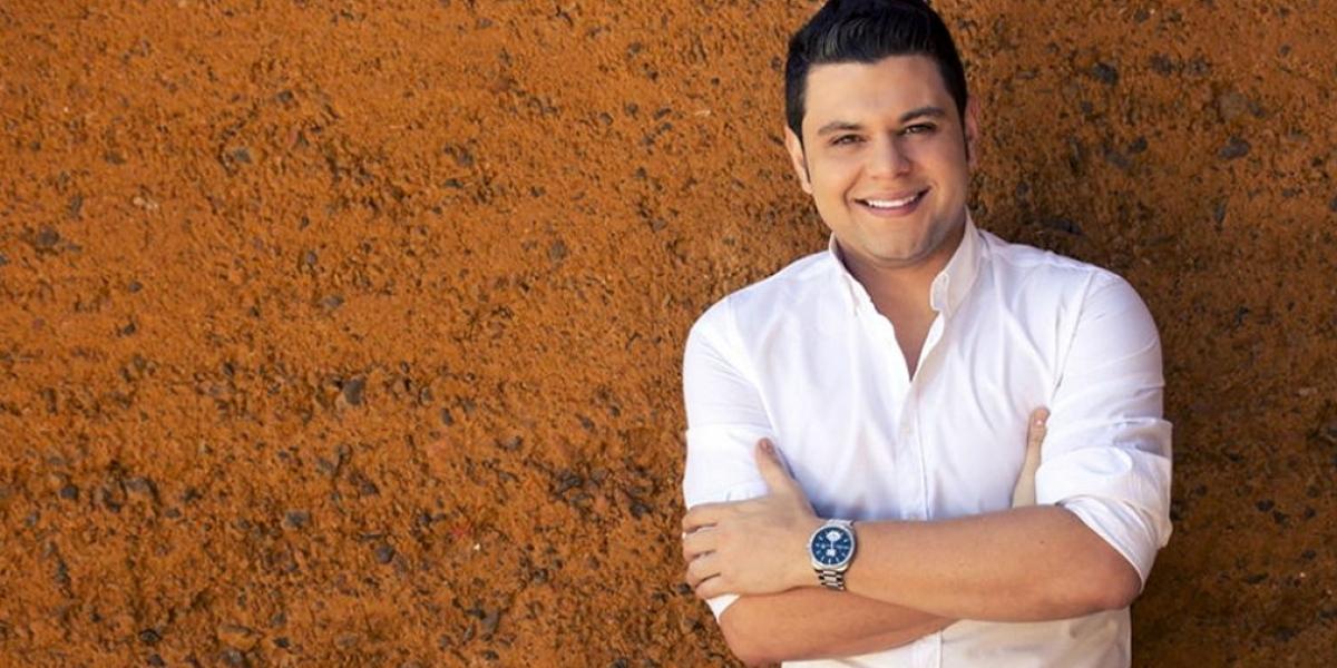 Luifer Cuello, cantante vallenato.