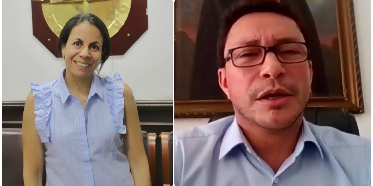 La representante de Mineducación, Adriana López, le puso orden a la intervención de Caciedo.