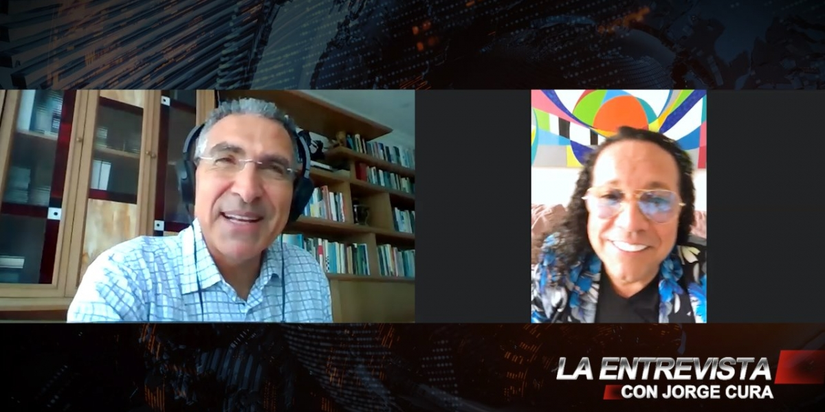 Jorge Cura entrevista a Joselo de Colombia.