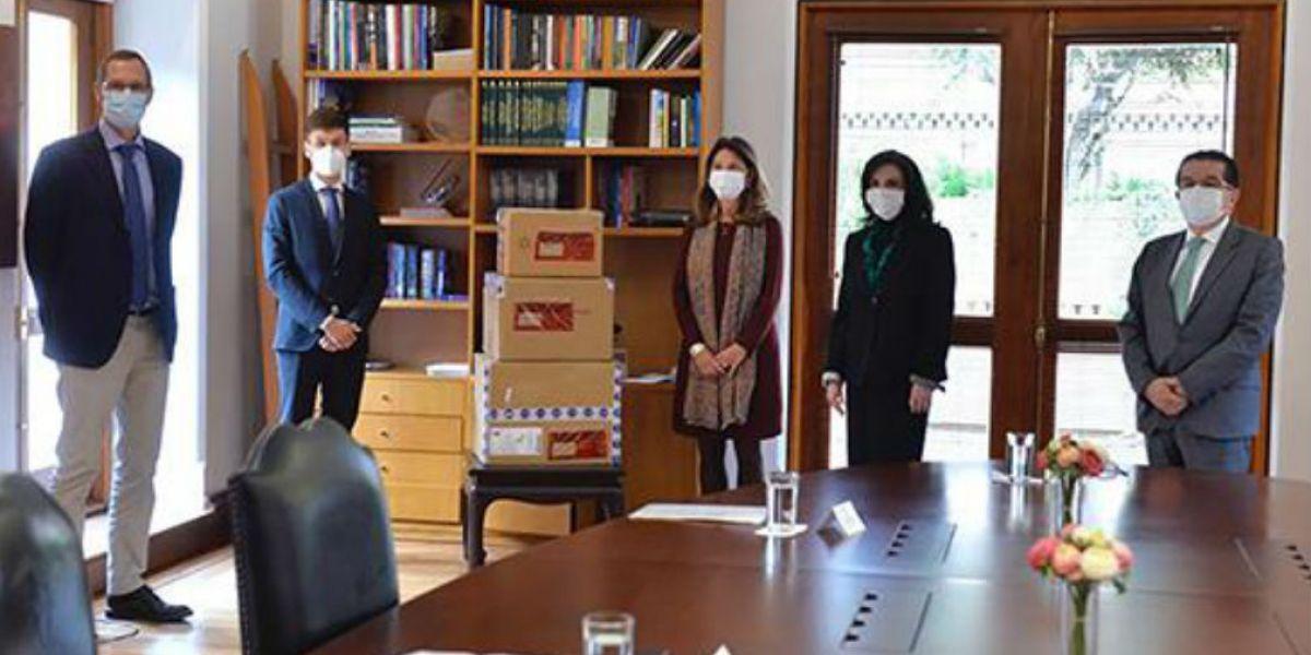 Reunión de la misión médica alemana con la Vicepresidenta, Martha Lucia Ramírez.
