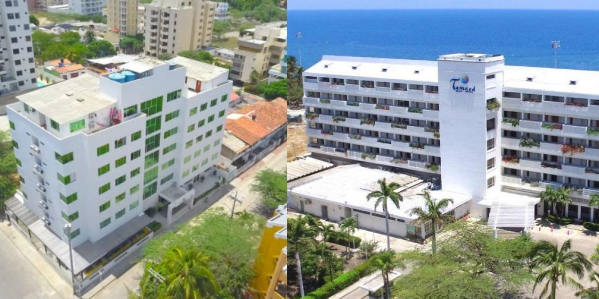 Hotel Portobahía y Hotel Tamacá.