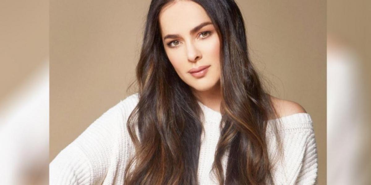 Danna García, actriz colombiana.