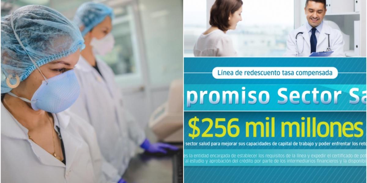 El monto máximo por beneficiario funciona así: Para  las IPS es de hasta  $12.837 millones y para las EPS hasta $64.188 millones.