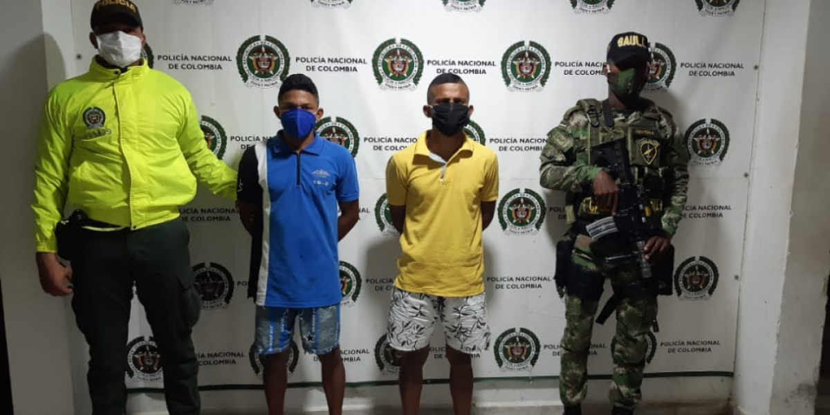 Los presuntos homicidas fueron asesinatos cuando caminaban por las calles del barrio la Esperanza de Aracataca.