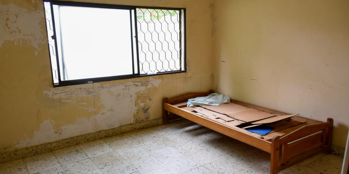 El centro asistencial se encuentra en pésimas condiciones.