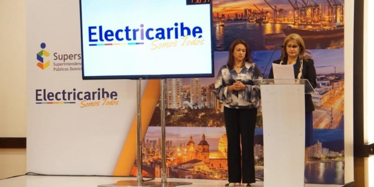 La Agente Especial hizo énfasis en que todas las gestiones de Electricaribe han sido transparentes y ajustadas a las leyes.