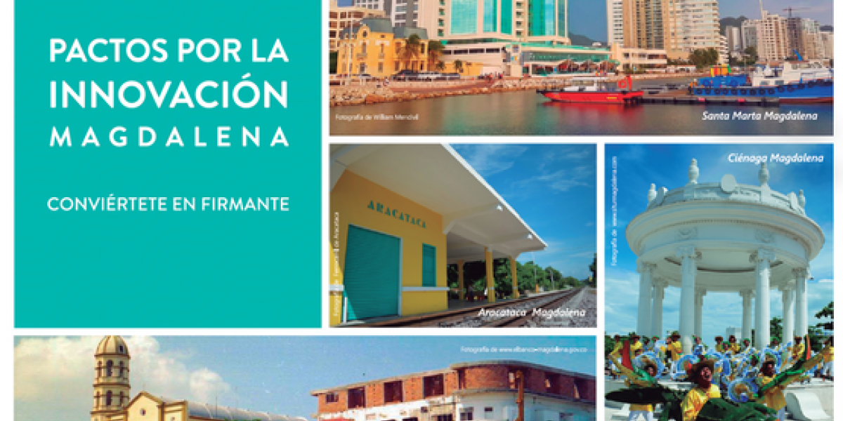 En esta oportunidad, 'Pactos por la Innovación' llega al departamento del Magdalena con el propósito de aportar por un territorio más próspero y competitivo,