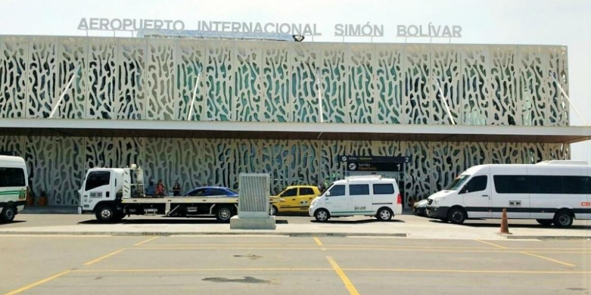 Aeropuerto de Santa Marta.