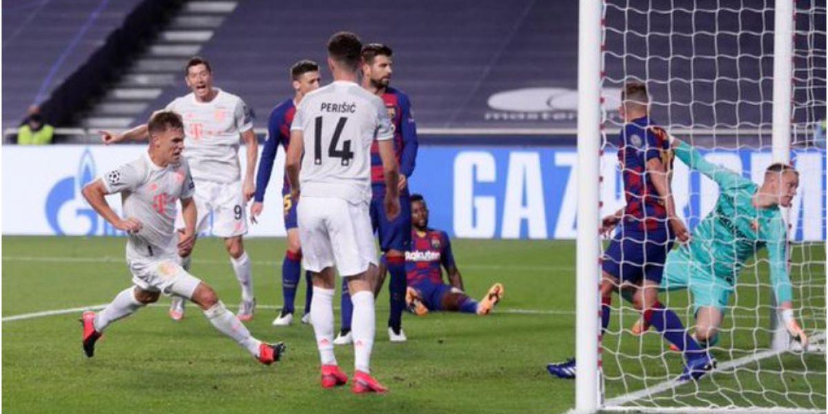 El equipo alemán mostró todo su poder ante el Barsa.