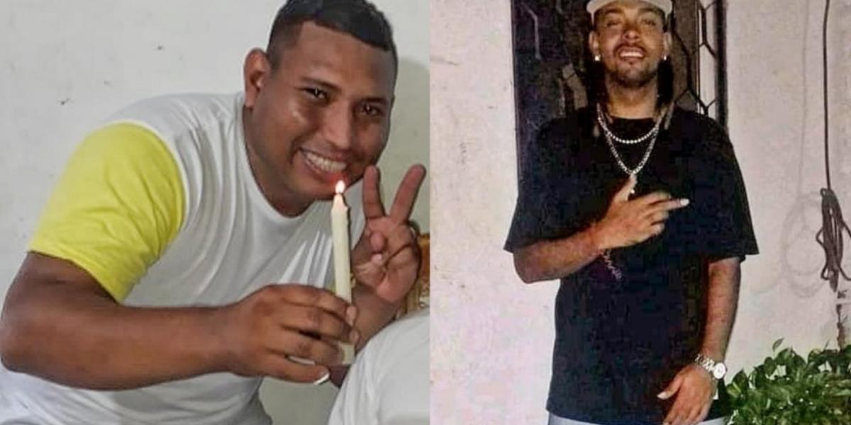 Fernando Ortega Ospino, de 33 años; y su cuñado Meisson David Avila Prenth, de 29 años.