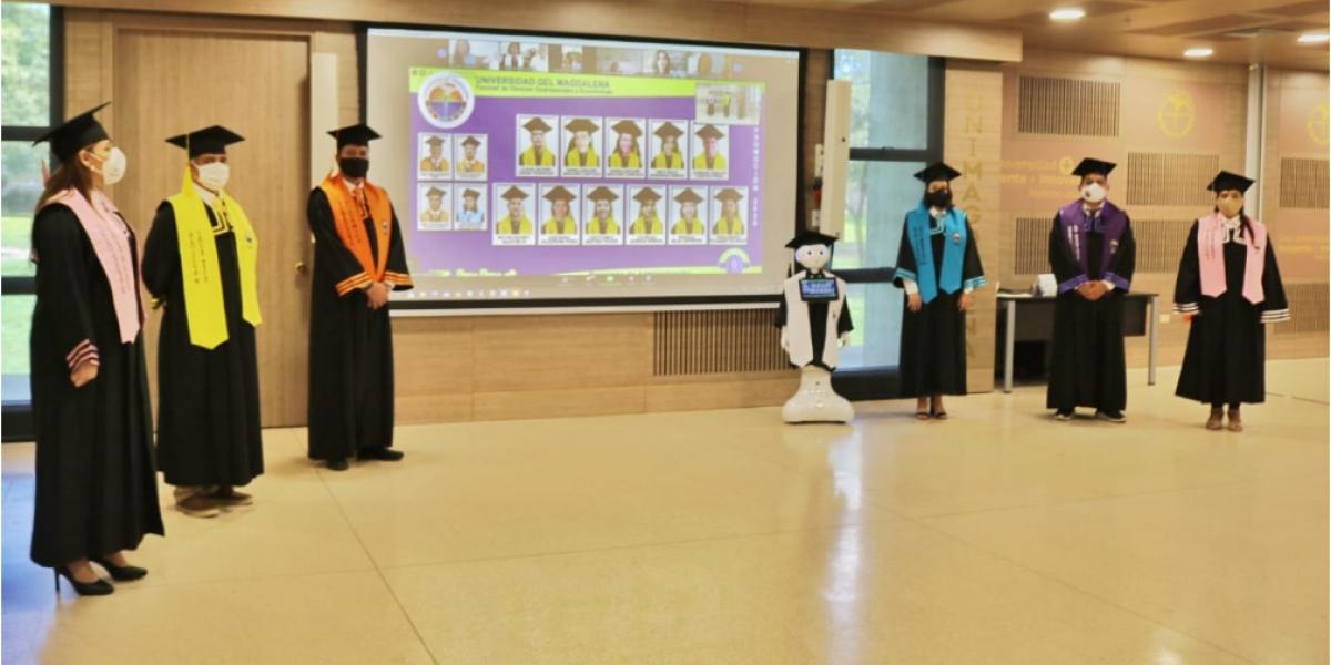 Por cuarta ocasión se vivió una ceremonia virtual en la Alma Mater.